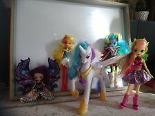 Lot divers my little poney equestria girls licorne lumineuse musicale Hasbro
