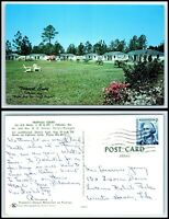 GEORGIA Postcard - Folkston, Tropical Court Motel L29