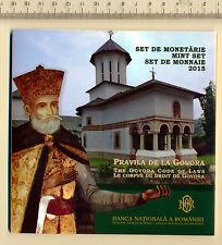 Romania Rumänien KMS 50 bani 2015 COIN SET 2015 Romanian Rumania MINT SET GOVORA