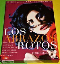 LOS ABRAZOS ROTOS Pedro Almodóvar DVD R2 Edición Coleccionista 2 dvd NUEVA