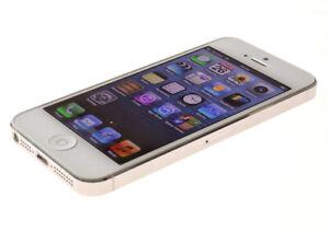 Apple iPhone 5 - 64GB - White & Silver (Verizon) A1429 (CDMA + GSM) Unlocked