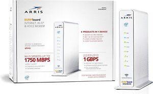 ARRIS Surfboard (24x8) Docsis 3.0 Cable Modem Plus AC1750 Dual Band Wi-Fi Router