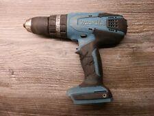 Makita HP457D 18V Li-ion Cordless Combi Drill Spares Parts or Repair 2013