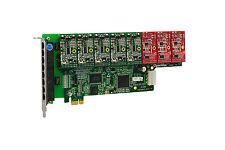 OpenVox A800E53 8 Port Analog PCI-E Base card + 5 FXS + 3 FXO, Ethernet (RJ45)