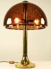 Alte Tisch Lampe Steh Lese Leuchte Messing Vintage Brass Lamp 80er Jahre