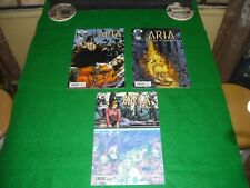 ARIA THE USES OF ENCHANTMENT #1,#2,# 3 2003 COLLECTIBLE IMAGE COMICS!!