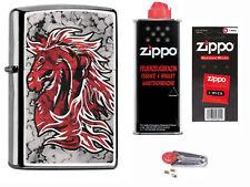 Zippo Horse Fusion + Starter Pack mit Benzin,Docht,Feuersteine 60001406 Neu