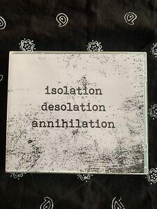 ISOLATION DESOLATION ANNIHILATION CD: PSYWARFARE MILAT HARSH NOISE