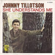 "Johnny Tillotson ""She Understands Me"" 1964 Record (NM) & Picture Sleeve (VG++)"