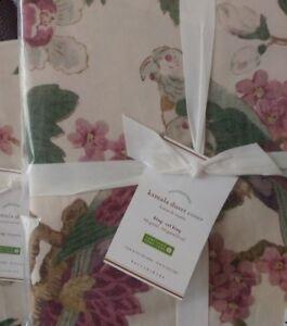 Pottery Barn Kamala King / Cal King Duvet Cover Floral NEW Purple NWT