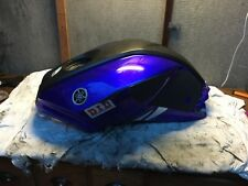 YAMAHA YZFR 125 08 PLATE PLASTIC FUEL TANK COVER WITH A SLIGHT SCUFF ON IT