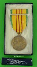 Vietnam Service Medal & Ribbon Bar Full Size Original Government Issued Gi