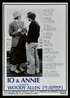 Plakat Ich E Annie Frauen Woody Allen Diane Keaton Tony Robert Kino B25