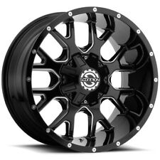 4 Scorpion Sc 19 20x10 6x1356x55 19mm Blackmilled Wheels Rims 20 Inch Fits More Than One Vehicle