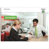 Skoda Serviceheft Serviceplan 2012 Fabia 5J Octavia Yeti Superb Roomster Deutsch