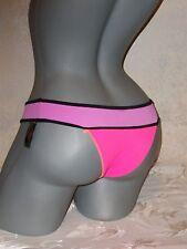 NWT Victoria Secret Neoprene Colorblock Itsy XS Swimsuit Bikini Bottom