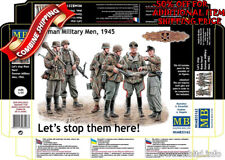 Master Box 35162 Lets Stop Them Here! WWII German Military Men plastic kit 1/35