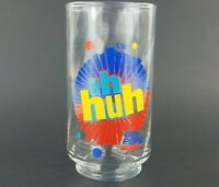 """Diet Pepsi Uh Huh 5"""" Glass, You Got The Right One Baby Ray Charles Cola EUC VTG"""
