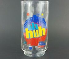 "Diet Pepsi Uh Huh 5"" Glass, You Got The Right One Baby Ray Charles Cola EUC VTG"
