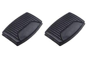 Ford F150 F250 Manual Clutch Pedal Brake Pad Black Rubber Covers OEM C8TZ2454AA