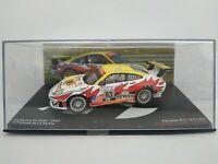 1/43 PORSCHE 911 GT3 RS 2003 MAASSEN 24H DU LE MANS GT IXO COCHE ESCALA DIECAST