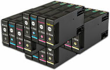 16 T702 non-OEM Ink Cartridges For Epson WorkForce Pro WP-4525DNF WP-4535DWF