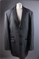Marc Darcy Mens Charcoal Grey Matteo Blazer Jacket 44R Chest Formal Evening Work