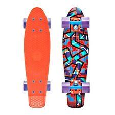 "Penny Skateboard Fresh Print Spike 22"" Red Purple NEW 2015"