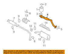 Chevrolet GM OEM 04-08 Aveo 1.6L-L4 Exhaust System-Front Pipe 96837652