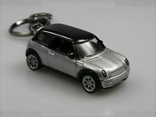 PORTACHIAVI MINI ONE COOPER S D ARGENTO NERO TETTO Super REGALO
