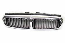 original Jaguar X-Type Kühlergrill Chrom grau silber mit Emblem Front Grill KFZ