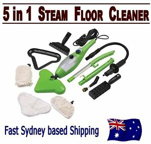 Steam Mop H2O 5 in 1 Multi Function Steam Cleaner X5 Floor Carpet Window Garment