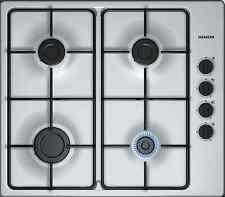 Siemens gas Koch campo gas anuló autárquicas acero inoxidable placa de cocina gasfeld 60cm gaskochfeld