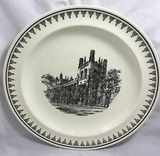"Vtg 10"" Wedgwood China Plate Harper Memorial Library 1912 University Chicago"