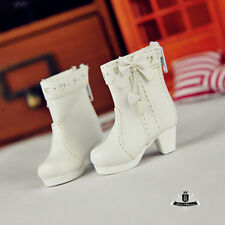 1/6 BJD Shoes Yosd Boots Dollfie DOD SOOM MID Luts Dollmore AOD Shoes White 0316