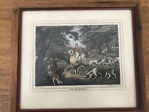 Vintage/antique Fox Hunting Engraving? Samuel Howitt English artist