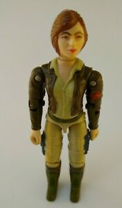 Vintage 1983 G.I. Joe Cover Girl  Action Figure Hasbro Wolverine Tank Driver *