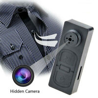 Mini HD 1080p Hidden Camera Camcorder Video Recorder DV DVR Button SPY Cam