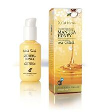 New Wild Ferns Manuka Honey Replenishing Day Creme 100ml Wildferns Day Cream