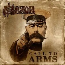 Call To Arms; Saxon 2011 CD, NWOBHM, Heavy Metal, Deep Purple, UDR Very Good