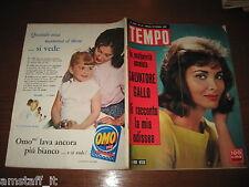RIVISTA TEMPO 1961/43=CINDI WOOD=ROBERT HOSSEIN=PAT MOSS=JAYNE MANSFIELD=
