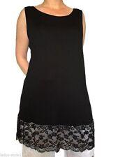 3/4 Arm Damenblusen, - tops & -shirts mit Rundhals-Ausschnitt aus Spitze