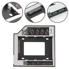 SATA 2nd HDD SSD Hard Drive Caddy Tray For 12.7mm Laptop CD / DVD-ROM UK