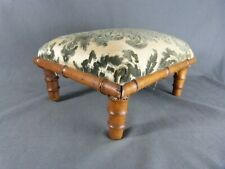 Antique French Faux Bamboo Furniture Footstool Armchair Footrest
