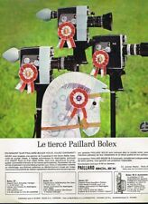 E- Publicité Advertising 1965 Les Camears paillard Bolex