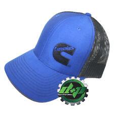 Dodge Cummins Cap Richardson 112 Blue w/ Black summer mesh Hat snapback trucker