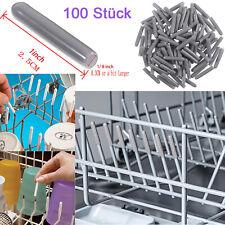 100 X Universal Schutzkappe Geschirrkorb Stäbe Reparatur Rostschutz Spülmaschine