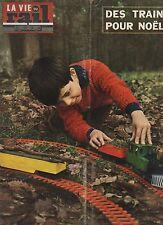 la vie du rail N°1171 du 8 decembre 1968 des trains pour noel