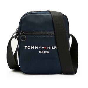 Tommy Hilfiger Bag - Established Small Reporter Bag - Black, Navy