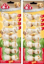 8in1 Delicias XS 2 x 7 Unidades hueso para Roer con Carne de pollo - Der perros